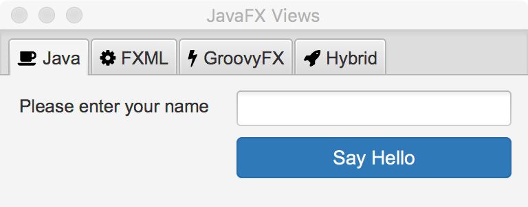 javafx app